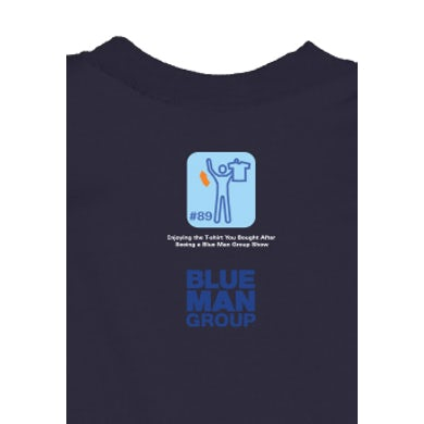Blue Man Group Rock Moves Youth T-Shirt