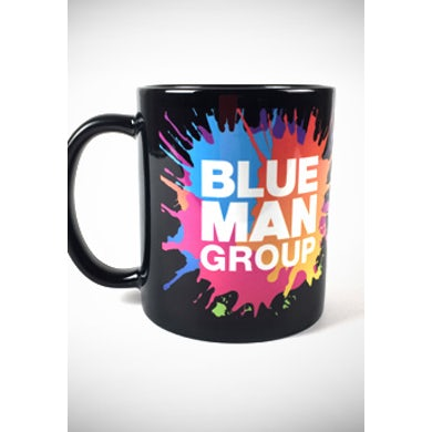 Blue Man Group Logo Mug