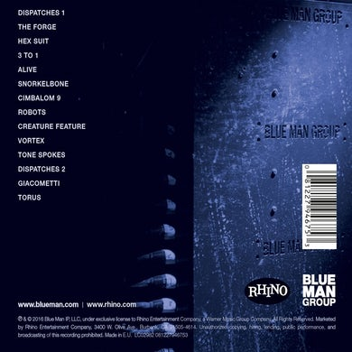 Blue Man Group Three CD