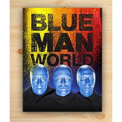Blue Man Group Blue Man World Book