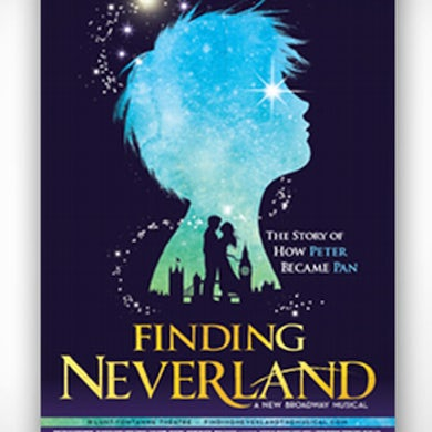 Finding Neverland Windowcard Poster