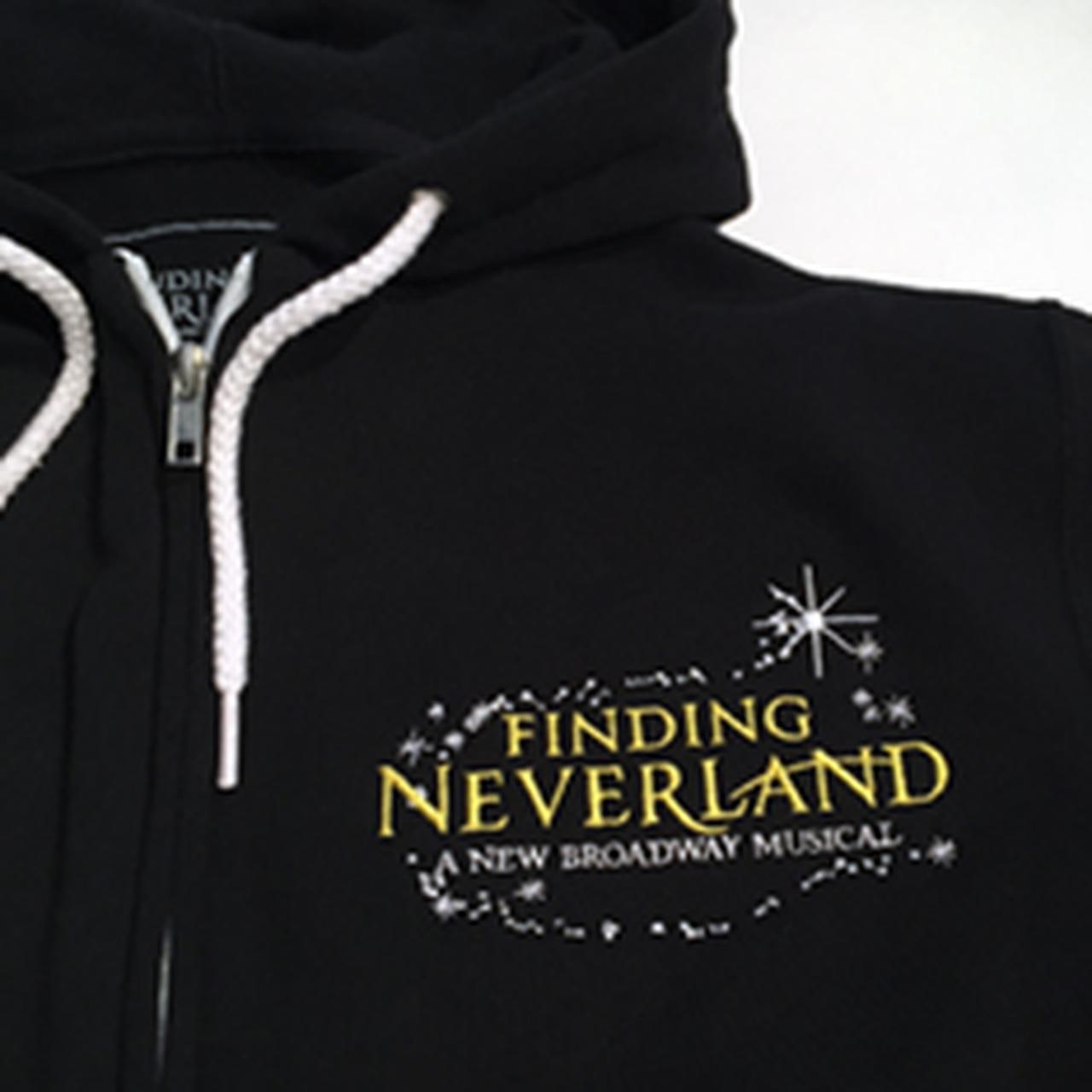 Finding Neverland Zip-Up Hoodie