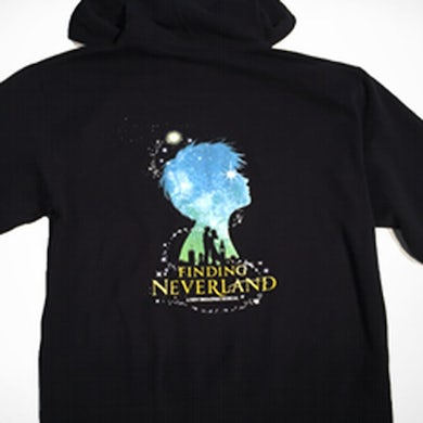 Finding Neverland Zip-Up Hoodie