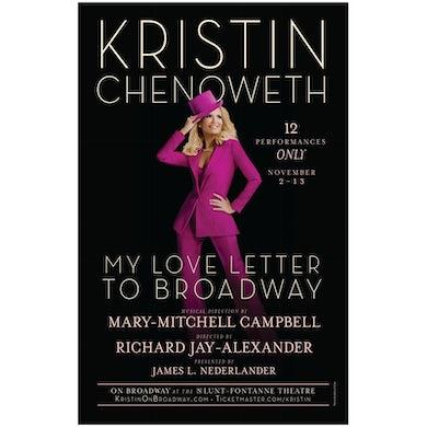 Gentlemans Guide Kristin Chenoweth Windowcard