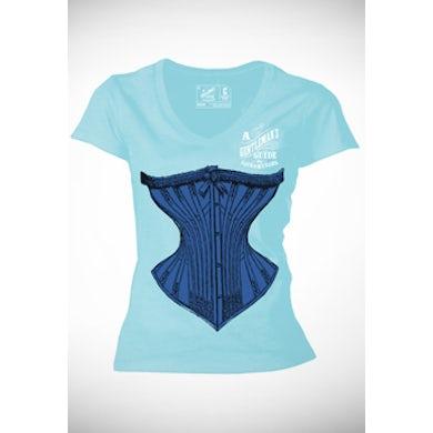 Gentlemans Guide A Gentleman's Guide... Corset Ladies T-Shirt