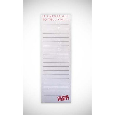 ON YOUR FEET: THE STORY OF EMILIO & GLORIA On Your Feet Notepad
