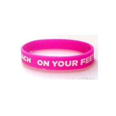 ON YOUR FEET: THE STORY OF EMILIO & GLORIA On Your Feet Pink Bracelet