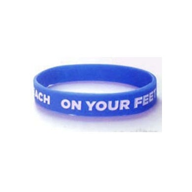 ON YOUR FEET: THE STORY OF EMILIO & GLORIA On Your Feet Blue Bracelet