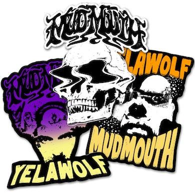 Yelawolf MUD MOUTH STICKER PACK