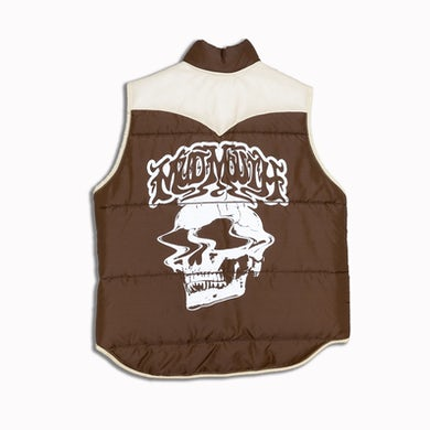 MUD MOUTH PUFFER VEST (S)