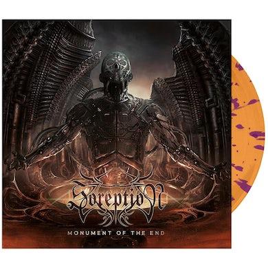 Soreption - 'Monument of the End' Orange w/Purple Splatter Vinyl