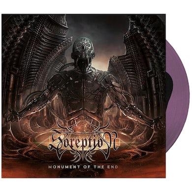 Soreption - 'Monument of the End' Black in Transparent Purple Vinyl