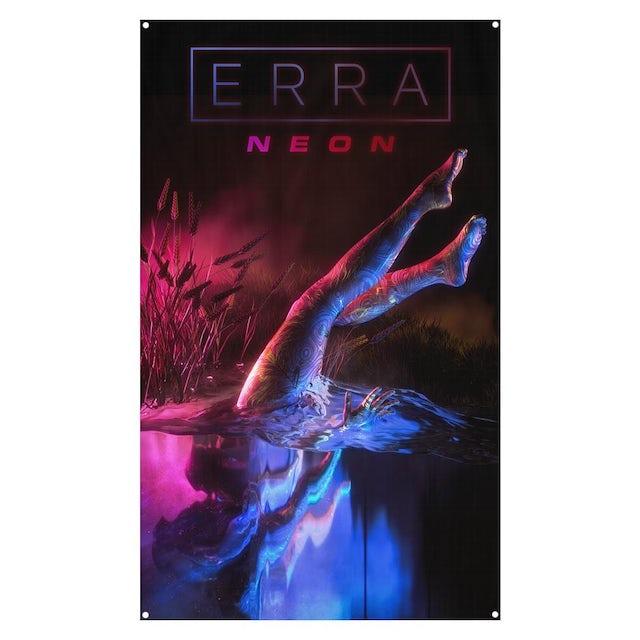 Erra Neon Wall Flag