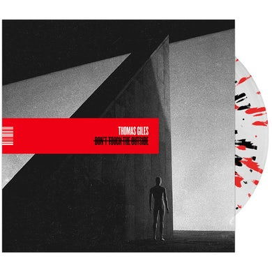 Don't Touch The Outside' Clear w/Red & Black Splatter Vinyl