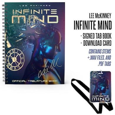 Lee McKinney - 'Infinite Mind' Signed Tablature Book & Laminate Bundle
