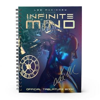 Lee McKinney - 'Infinite Mind' Signed Tablature Book
