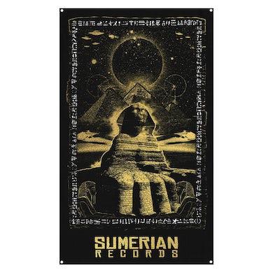 Sumerian Merch Sumerian Records - Sphinx Wall Flag