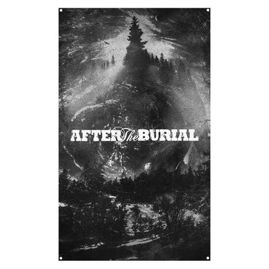 After The Burial - Evergreen Wall Flag