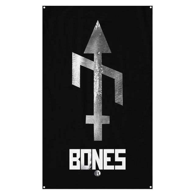 Bones Uk Sigil Wall Flag