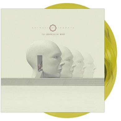 The Madness Of Many' Black Inside Transparent Lemon Yellow Vinyl