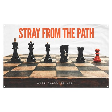 Stray From The Path - Only Death Is Real Wall Flag