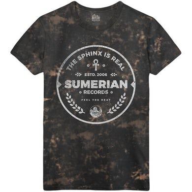 Sumerian Merch Sumerian Records 10 Year - Acid & Heat Tee