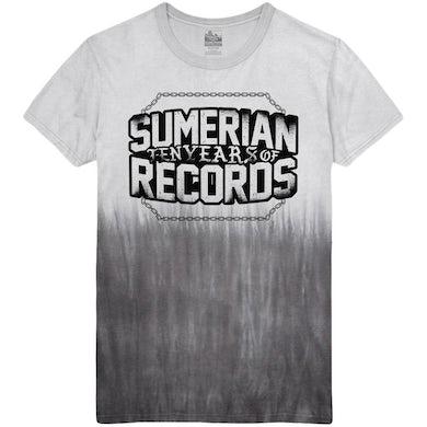 Sumerian Merch Sumerian Records 10 Year - Break The Chains Tee