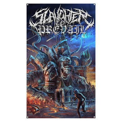 Slaughter To Prevail - Chapters Of Misery Wall Flag