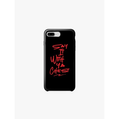 Kevin Hart Say It With Ya Chest iPhone Case