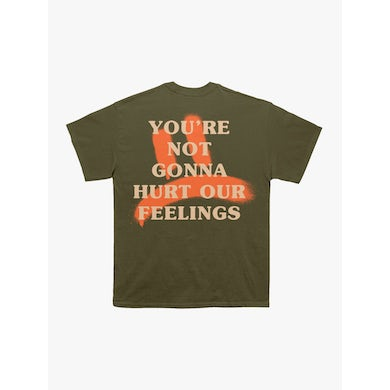 Kevin Hart Hurt Our Feelings Army Green Tee