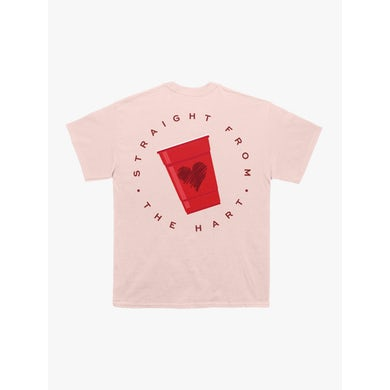 Plastic Cup Pink Tee