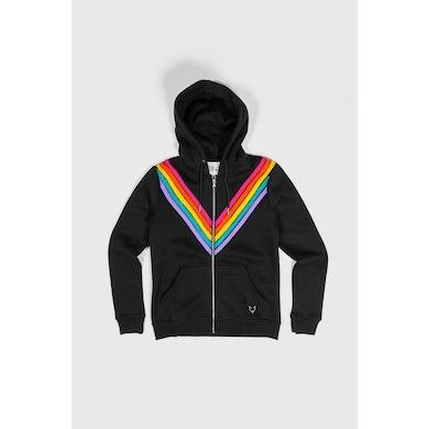 Joey Graceffa The Rainbow Black Hoodie