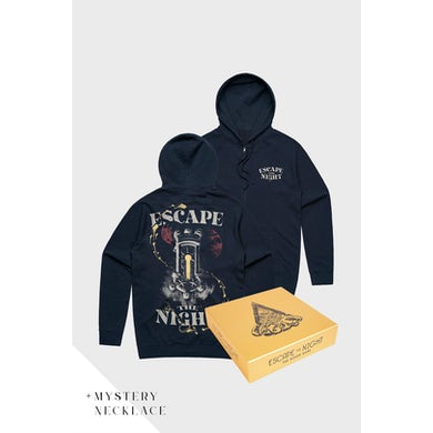 Joey Graceffa Escape The Night Zip Hoodie x Board Game Bundle
