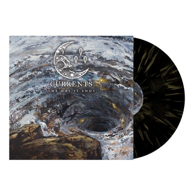 The Way It Ends' Black w/Yellow Splatter Vinyl