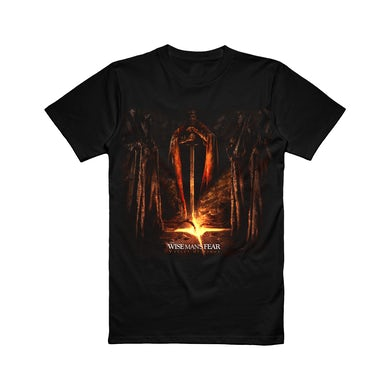 The Wise Man's Fear The Wise Man's Fear - Valley of Kings Album Art Tee