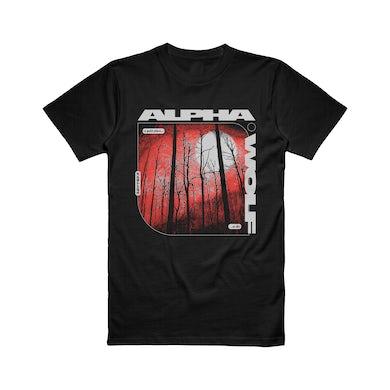 Alpha Wolf - Forest Tee