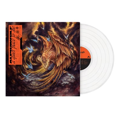 Alpha Wolf - 'A Quiet Place To Die' Clear Vinyl