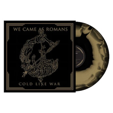 'Cold Like War' (repressing) Black & Gold Swirl