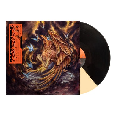 Alpha Wolf - 'A Quiet Place to Die' Gold/Black Vinyl