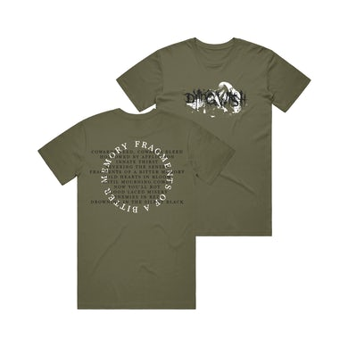 Dying Wish - Fragments Of A Bitter Memory Cowards Bleed Tee