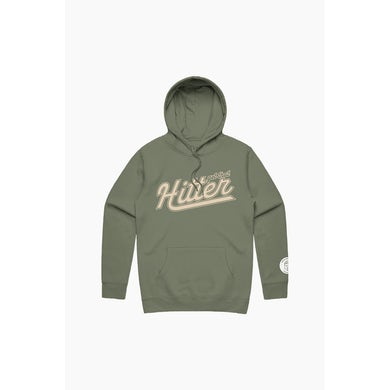 Theo Von Get That Hitter Military Green Hoodie