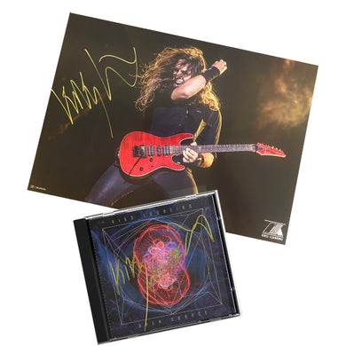 Signed CD Open Source (autographed poster as gift)