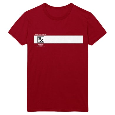 Queens Of The Stone Age Rated R Tee - Cardinal Red