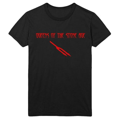 Queens Of The Stone Age Deaf Songs Tee - Black