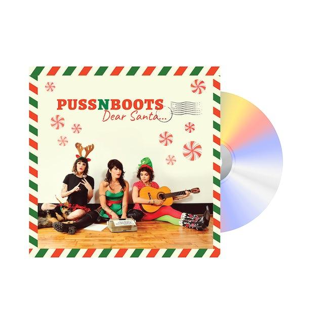 """Norah Jones Puss N Boots """"Dear Santa..."""" CD + Ornament"""