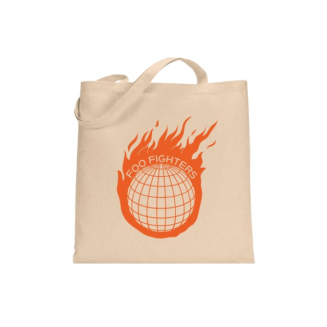 Foo Fighters Asteroid Tote Bag