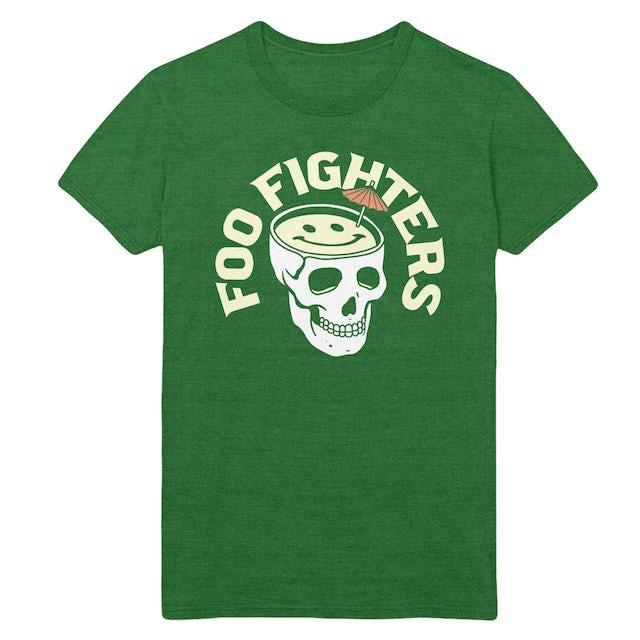 Foo Fighters Skull Drink Tee