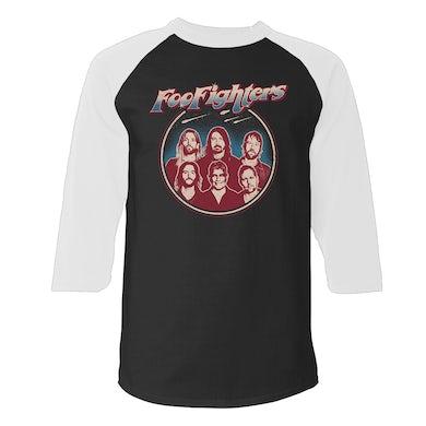Foo Fighters Space Crest Raglan