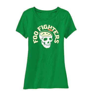 Foo Fighters Skull Drink Women's Tee