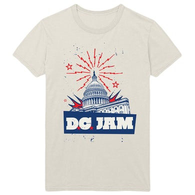 Foo Fighters D.C. Jam Capital Unisex Tee